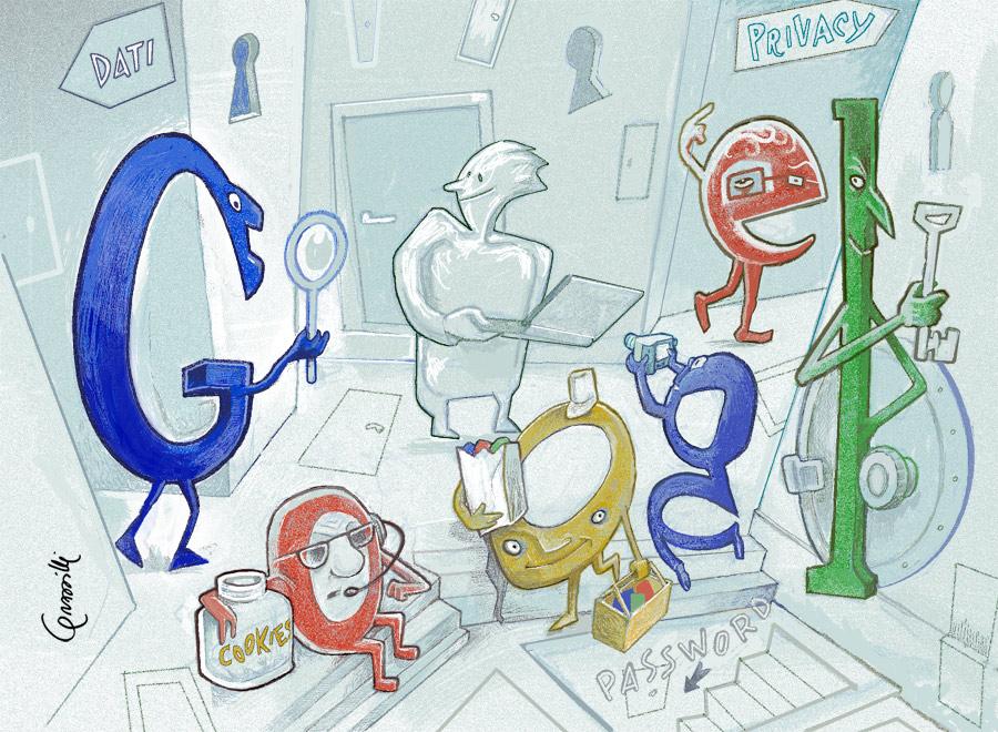 sicurezza google