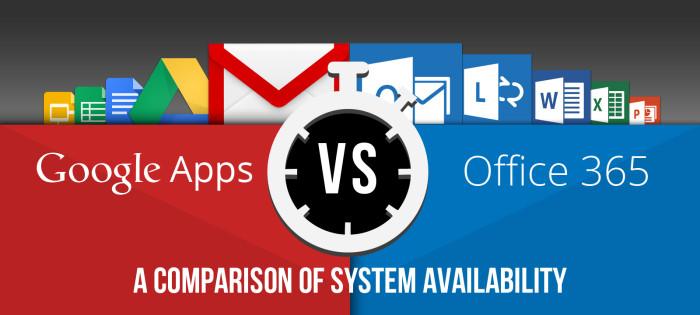 """google apps office 365"""