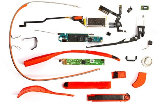 """google glass batteria"""
