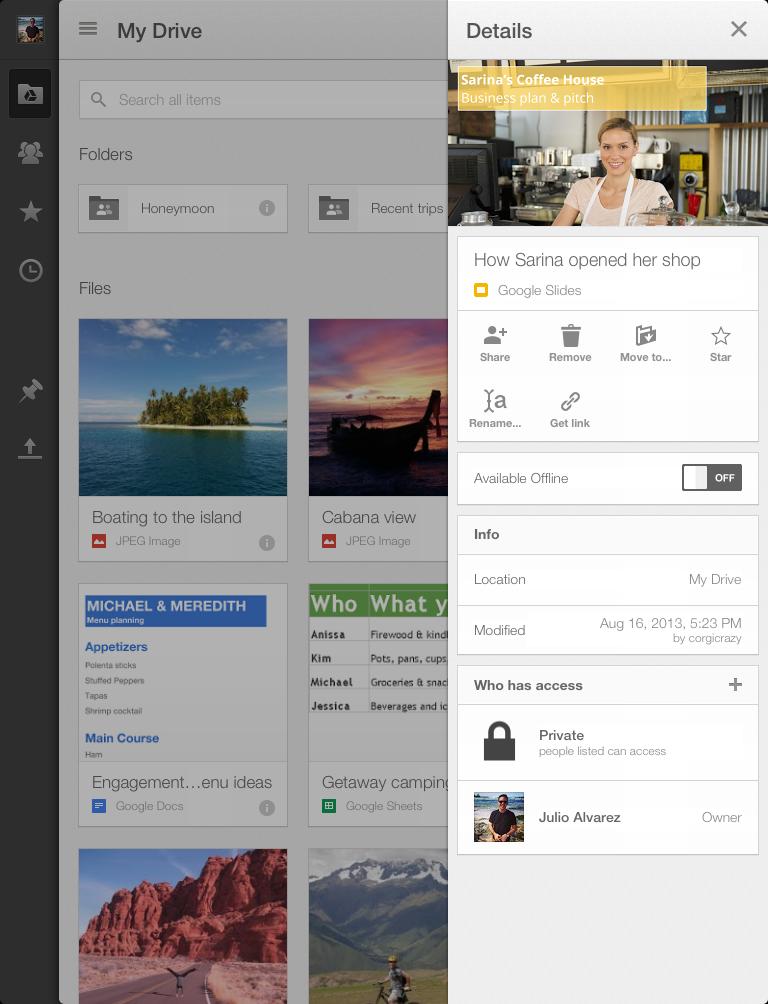 """Google-Drive-1.6-for-iOS-iPad-"""