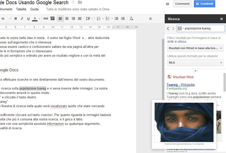 """ricerca google docs"""