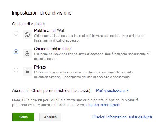 """""""condivisione google drive"""""""