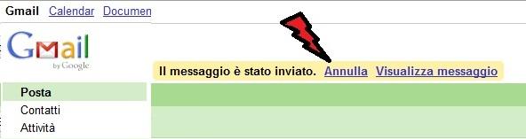 """""""gmail annulla invio"""""""
