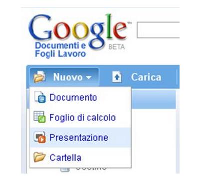 Google Drive Presentazione