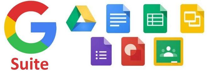 Risultati immagini per google suite