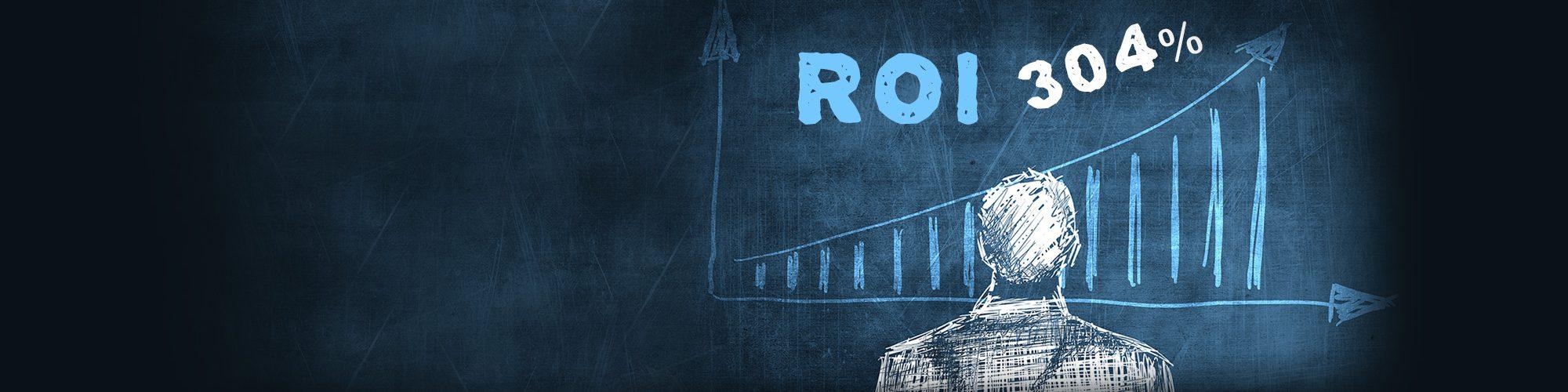 Con GSuite puoi raggiungere il 304% del ROI in tre anni